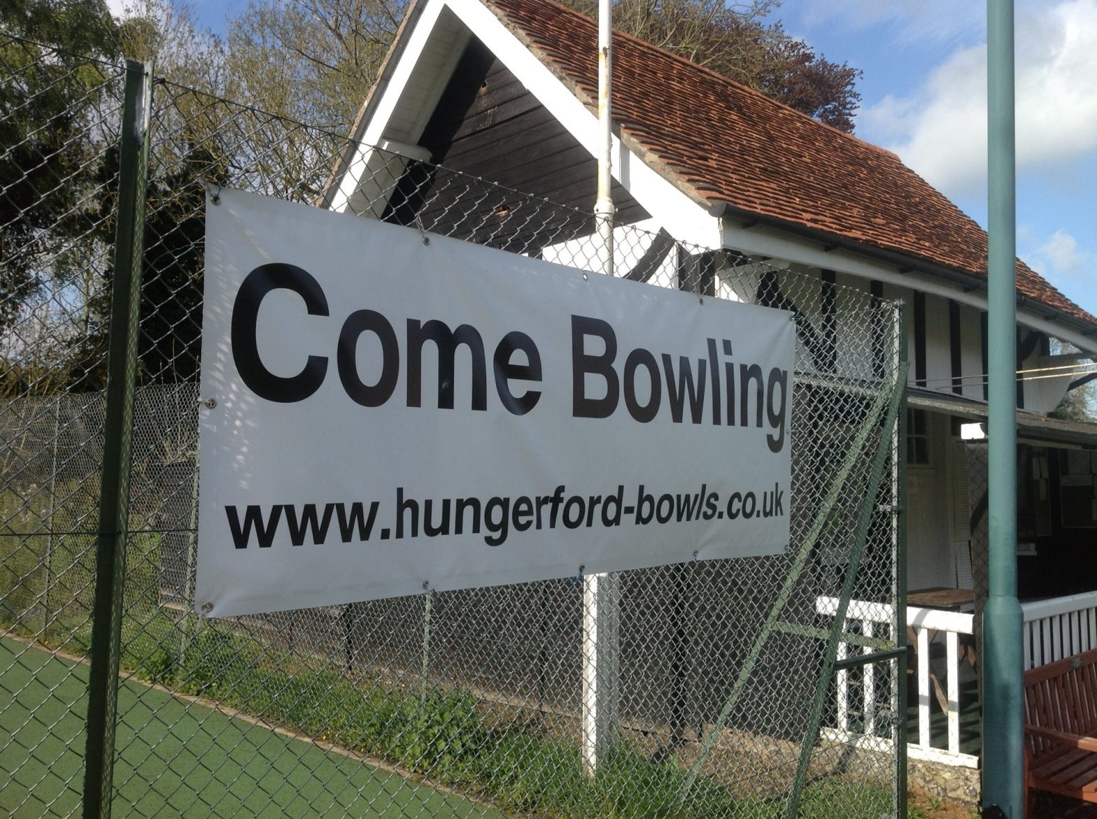 Poster inviting you to come bowling